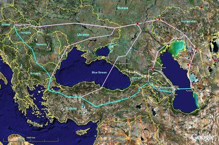 ...а на этой - в Туркмении