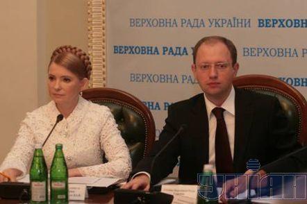 Яценюку и Тимошенко пророчат конец политической карьеры после Вильнюса