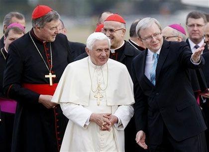 Папа и премьер-министр Австралии Кевин Рудд