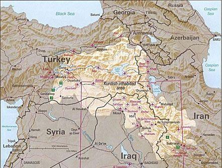 Курды съехались из многих стран Европы