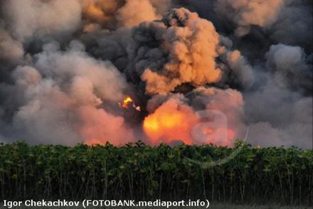 взрыв в Лозовой