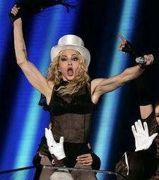 Мадонна на концерте в Риме. Фото АР