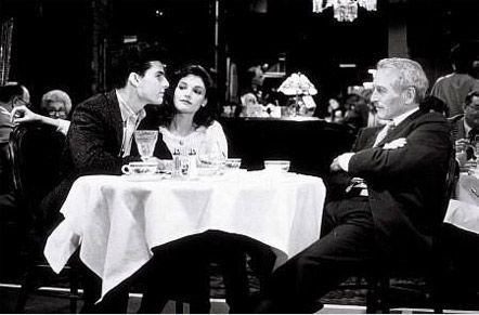 """""""Цвет денег"""". Пол Ньюман с Томом Крузом и Мэри Элизабет Мастрантонио"""