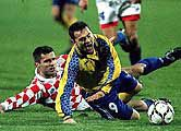 Украина - Хорватия плей-оффа в 1997 г.