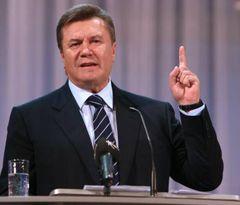Віктор Янукович під час 19-ої конференції в Донецькій обласній організації Партії регіонів. Донецьк, 16 жовтня