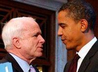 Маккейн, Обама