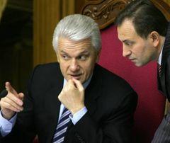 Владимир Литвин и  Николай Томенко