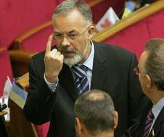 Дмитрий Табачник в зале заседаний Верховной Рады. Киев, 13 января