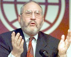 Джозеф Стиглиц, лауреат Ноебелевской премии 2001 г.
