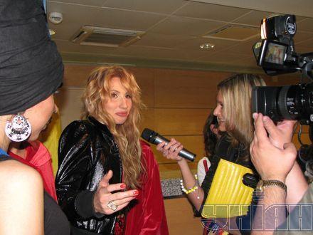 Светлана Лобода была  нарасхват у прессы