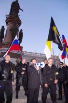 «Баркашовыи» провели в Одессе «Российский марш»