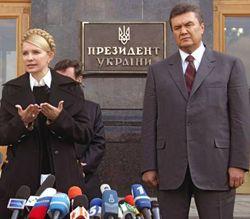 Тимошенко вновь зовет Януковича на теледуэль