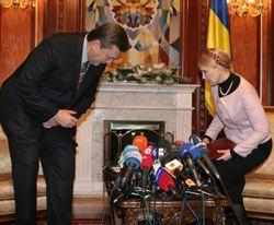 Янукович, Тимошенко