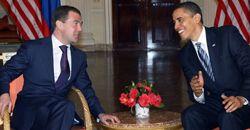 Медведев, Обама