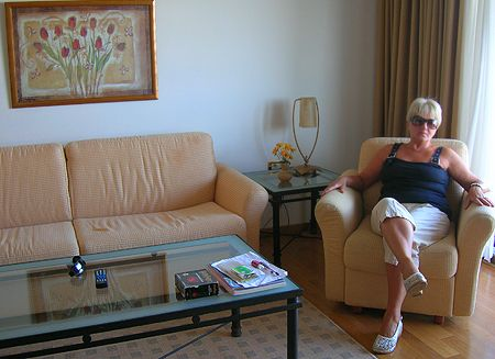 Valentyna Maley at the Aldemar Hotel