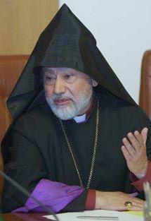 Глава Української єпархії Вірменської Апостольської Церкви, архієпископ Григоріс Бунатіян