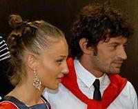 Каха Каладзе з дружиною