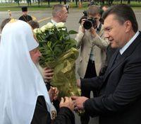 Патріарх Кирил, Янукович