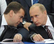 Медведев, Путин