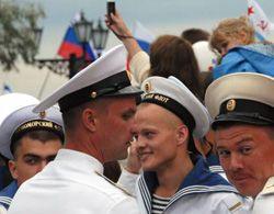 Моряки ЧФ России  в Севастополе