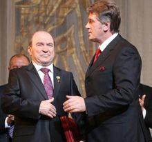 Леонид Губерский и Виктор Ющенко