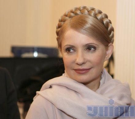 Тимошенко заверила, что не считает Яценюка конкурентом