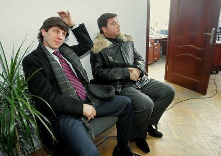 Ельбрус Тедеєв і Валерій Бондик