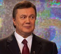 Виктор Янукович в своем штабе в Киеве. 7 февраля