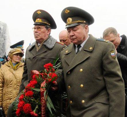 Сини Героя Радянського Союзу Василя Маргелова: генерал-лейтенант Олександр Маргелов і полковник Віталій Маргелов