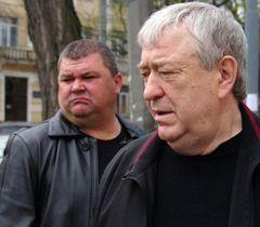 Руслан Боделан по прибытии в Одессу. 9 апреля