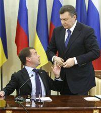 Mедведєв, Янукович