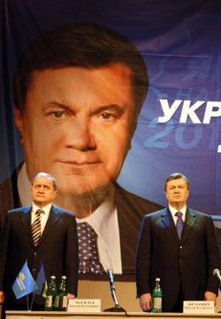 Анатолий Могилев и Віктор Янукович