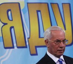 Микола Азаров під час прес-конференції в Києві. 22 червня