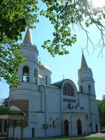 40. Борисо-Глібський кафедральний собор в Чернігові