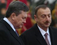 Виктор Янукович и Ильхам Алиев