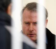 Виктор Лозинский во время судебного заседания в Днепровском районном суде Киева. 14 декабря