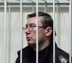 Юрий Луценко во время заседания Печерского районного суда в Киеве. 27 декабря