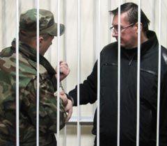 Юрий Луценко во время заседания Печерского районного суда. Киев, 27 декабря