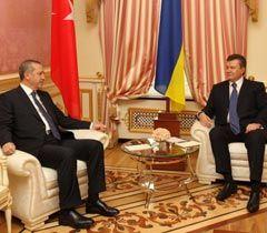 Эрдоган и Янукович встречаются в Киеве