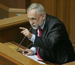 Юрий Кармазин во время заседания ВР. Киев, 2 февраля