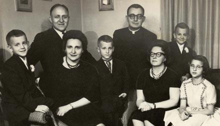 Семейное фото, Детройт, США (в 1964 г.)