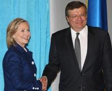 Клінтон, Грищенко