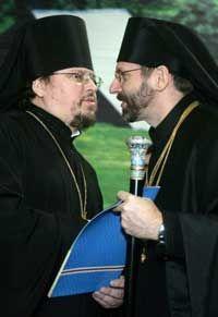 ... з єпископом Іларіоном