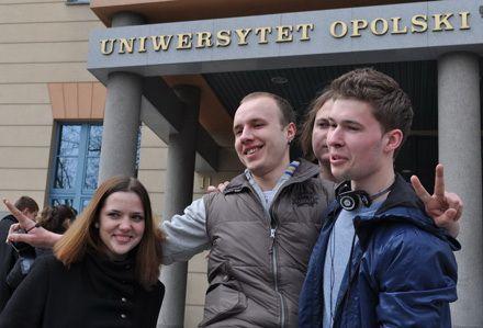 Українські студенти на дні відкритих дверей Опольського університету