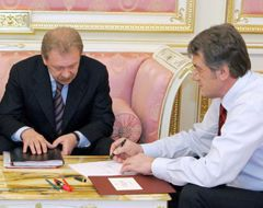 Олег Дубина, Віктор Ющенко