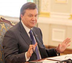 Виктор Янукович во время заседания Совета инвесторов. Киев, 23 июня