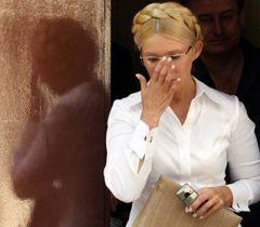 Юлия Тимошенко во время перерыва в судебном заседании. Киев, 28 июля