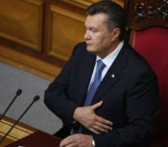 Віктор Янукович під час відкриття 9-ої сесії ВР. Київ, 6 вересня