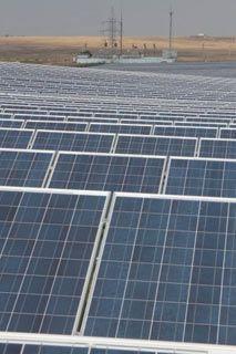 Сонячна електростанція (Сімферопільський р-н, Крим)