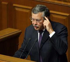 Анатолий Гриценко во время заседания ВР. Киев, 20 сентября